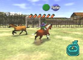 Link on a Horse