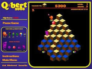 Box art - Q*bert 2005