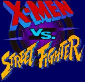 Box art - X-Men vs. Street Fighter