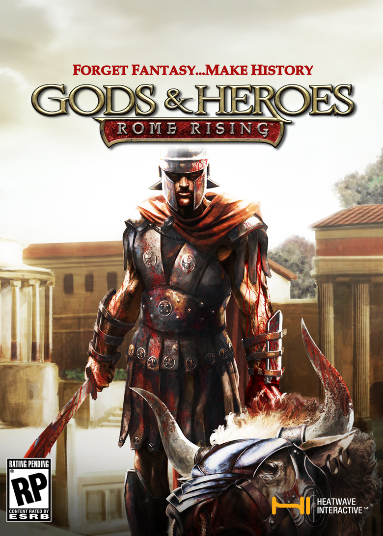 Box art - Gods & Heroes: Rome Rising