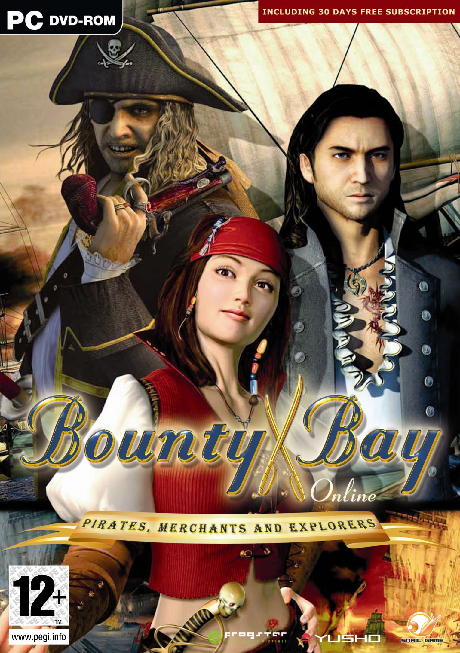Box art - Bounty Bay Online