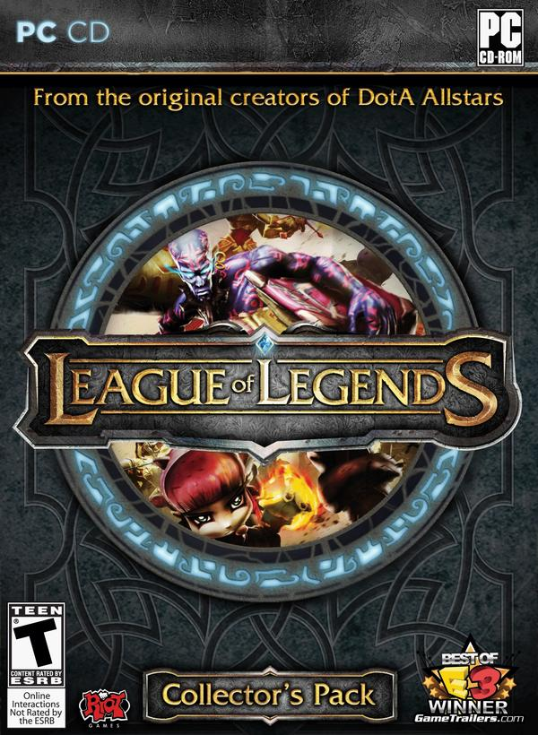 Box art - League of Legends
