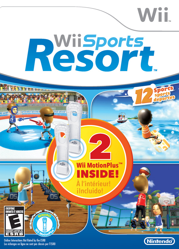 Box art - Wii Sports Resort