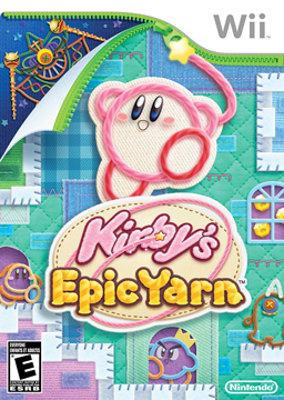 Box art - Kirby's Epic Yarn