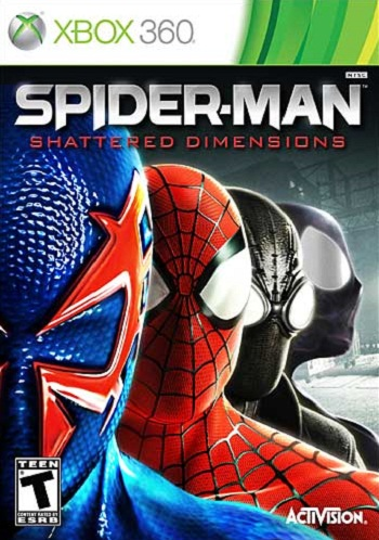 Box art - Spider-Man: Shattered Dimensions