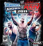 Box art - WWE Smackdown vs. RAW 2011