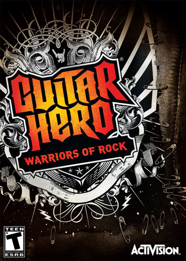 Box art - Guitar Hero: Warriors of Rock