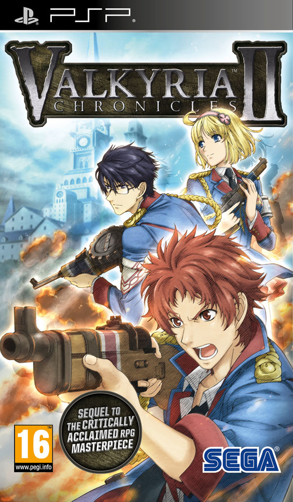 Box art - Valkyria Chronicles II
