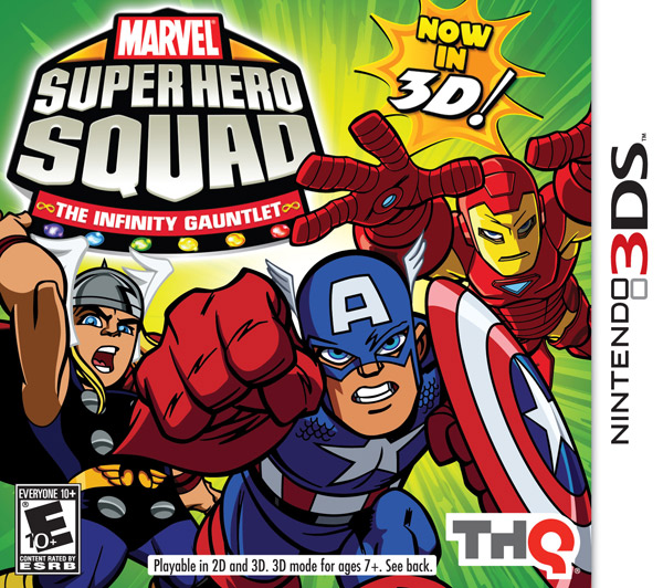 Box art - Marvel Super Hero Squad: The Infinity Gauntlet