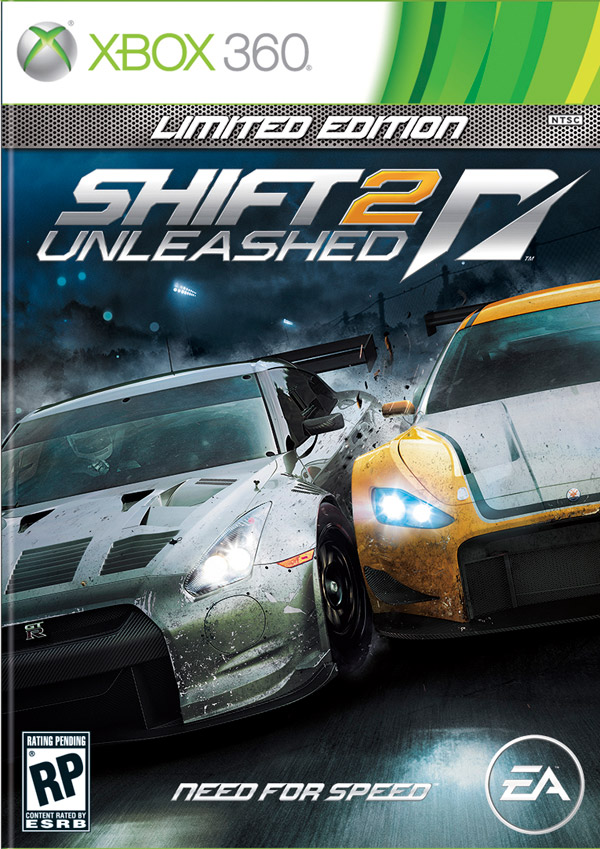 Box art - Shift 2 Unleashed