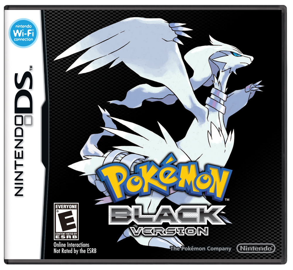 Box art - Pokémon Black & White