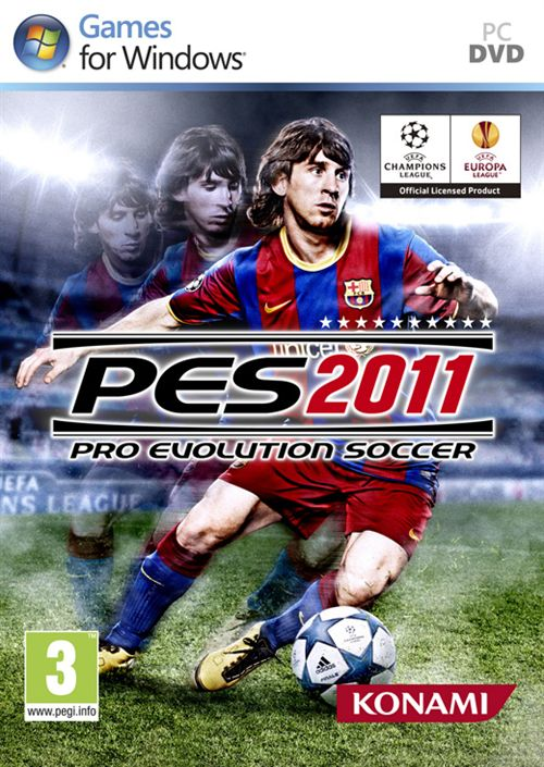 Box art - Pro Evolution Soccer 2011
