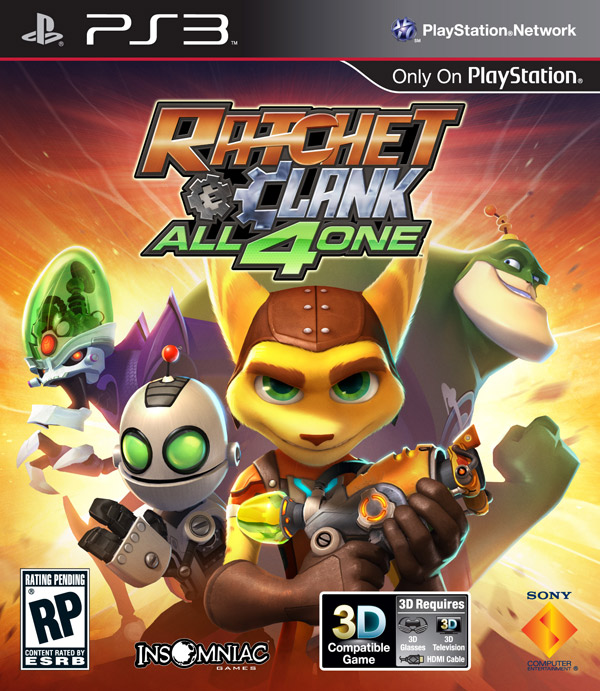 Box art - Ratchet and Clank: All 4 One