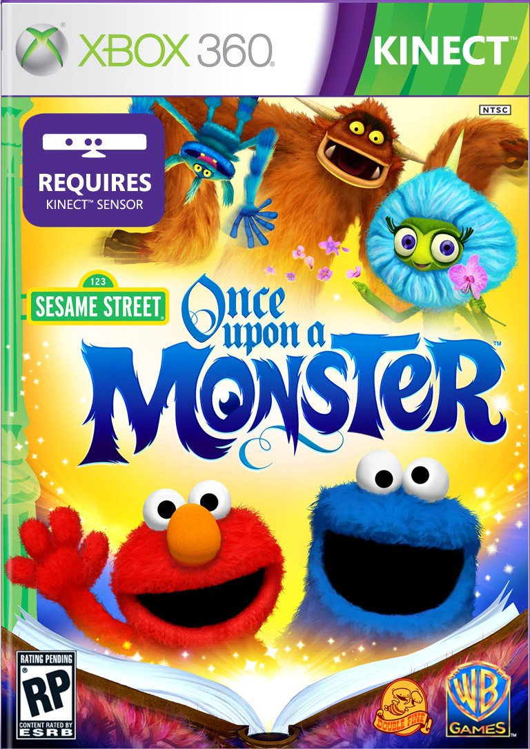 Box art - Sesame Street: Once Upon a Monster