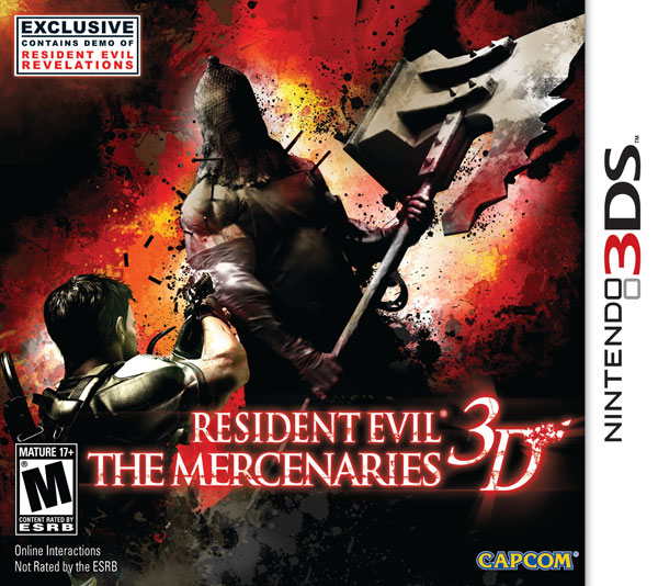Box art - Resident Evil: The Mercenaries 3D