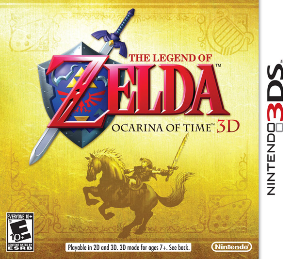 Box art - The Legend of Zelda: The Ocarina of Time 3D