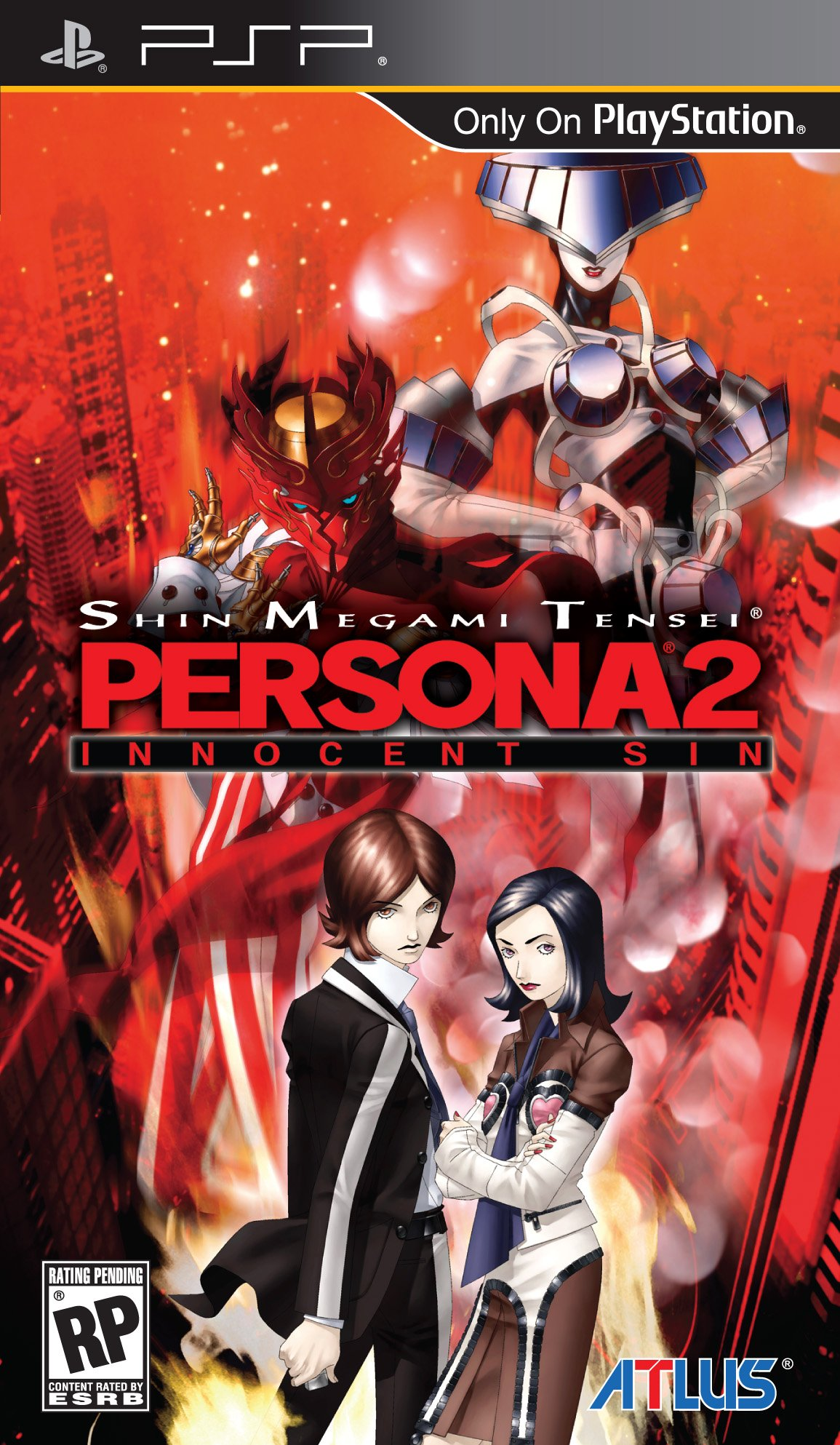 Box art - Shin Megami Tensei: Persona 2: Innocent Sin