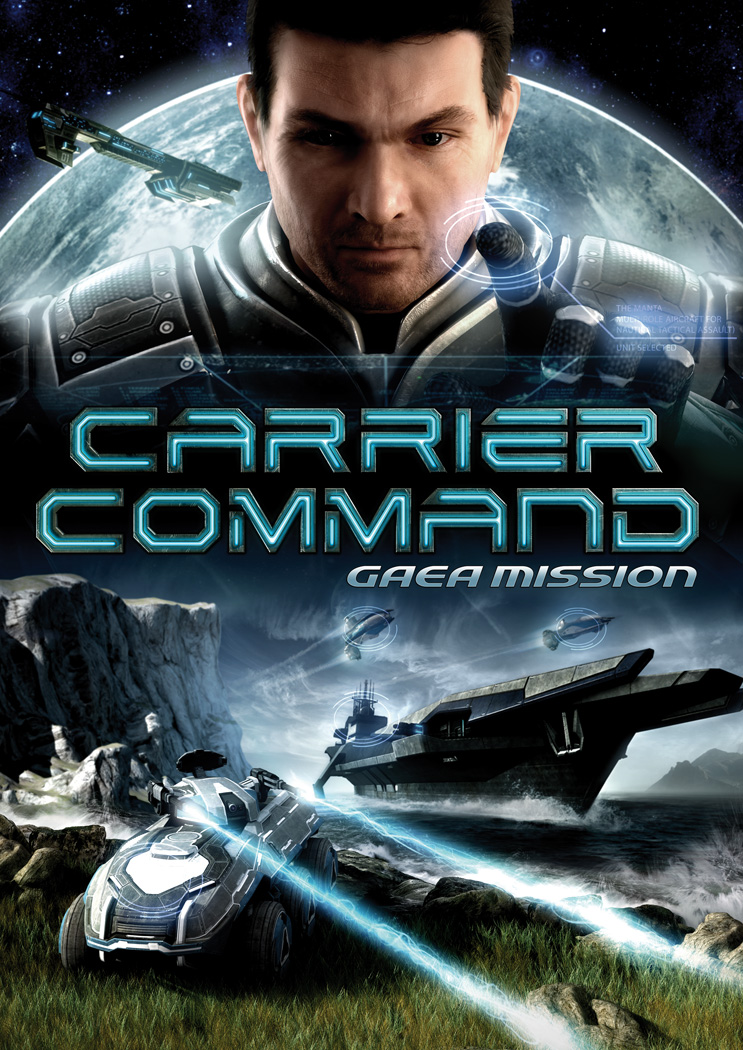 Box art - Carrier Command: Gaea Mission