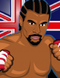 Box art - David Haye's Knockout