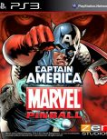 Box art - Marvel Pinball: Captain America