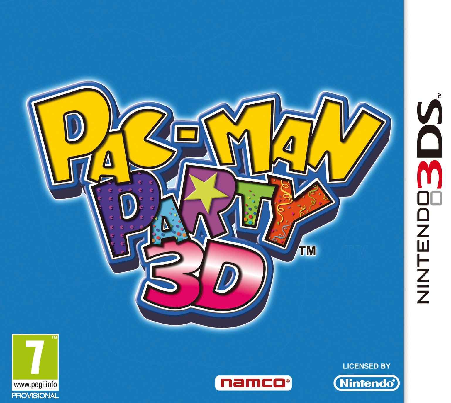 Box art - Pac-Man Party 3D