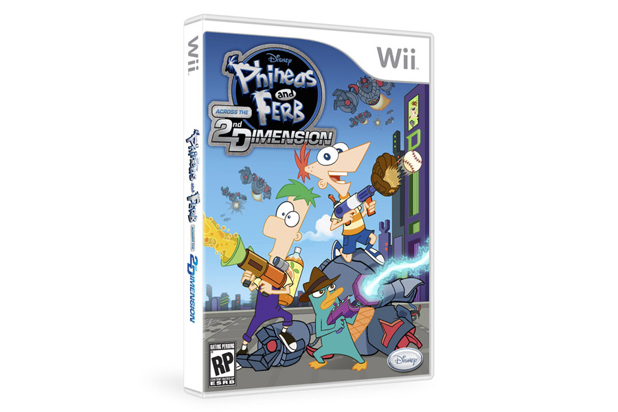 Box art - Phineas and Ferb: Across the Second Dimension