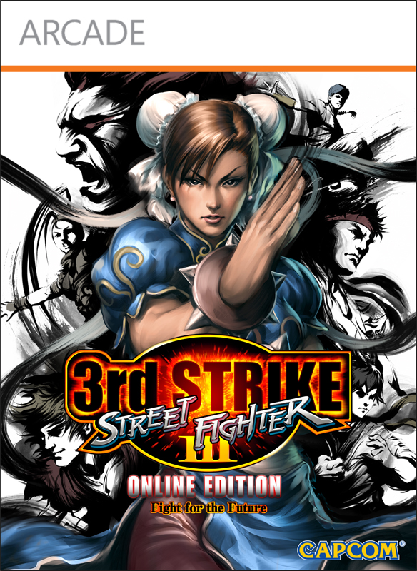 Box art - Street Fighter III: Third Strike