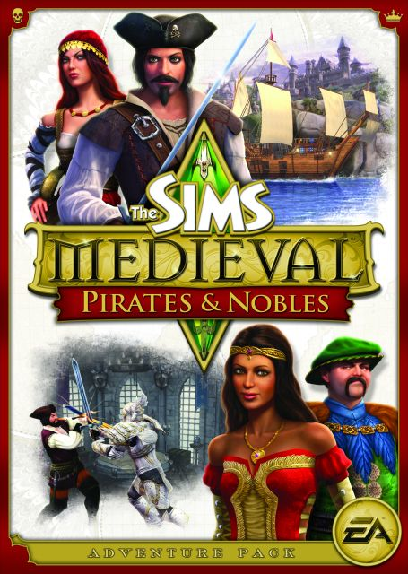 Box art - The Sims Medieval: Pirates and Nobles
