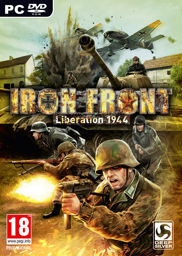 Box art - Iron Front - Liberation 1944