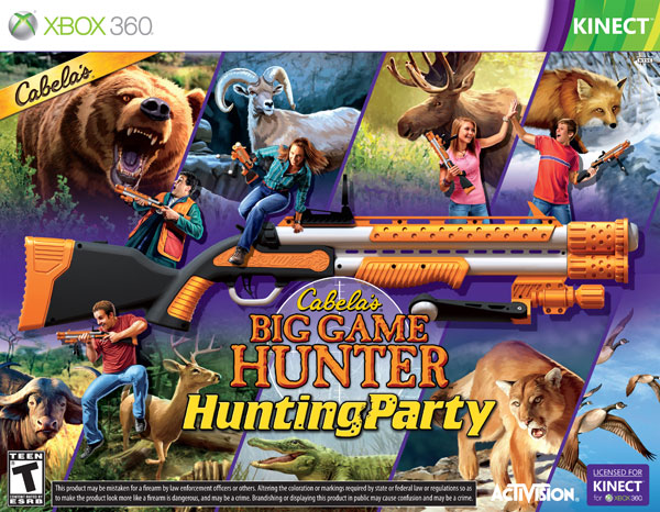 Box art - Cabella's Big Game Hunter: Hunting Party