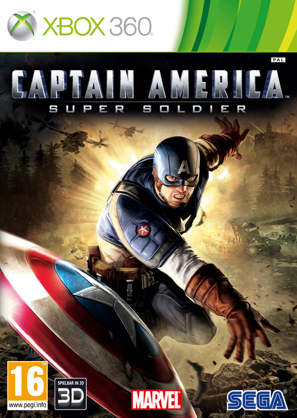 Box art - Captain America: Super Soldier