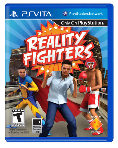 Box art - Reality Fighters