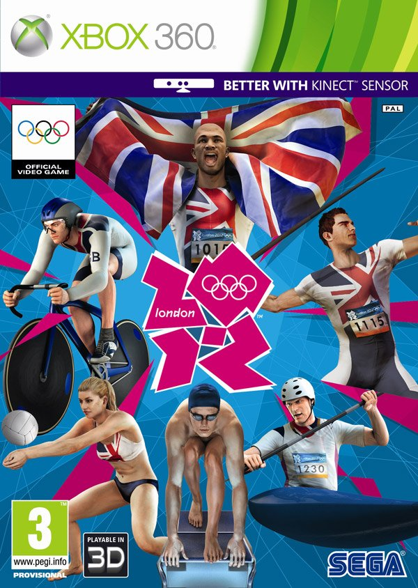Box art - London 2012: The official video game of the Olympic Games