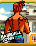 Box art - Baseball Town