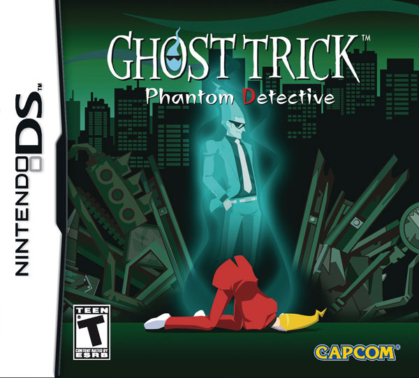 Box art - Ghost Trick