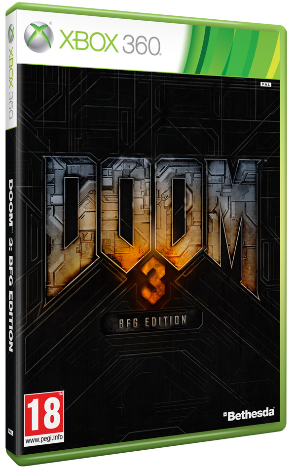 Box art - Doom 3 BFG Edition