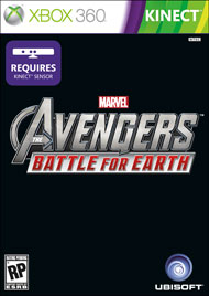 Box art - Marvel Avengers: Battle for Earth
