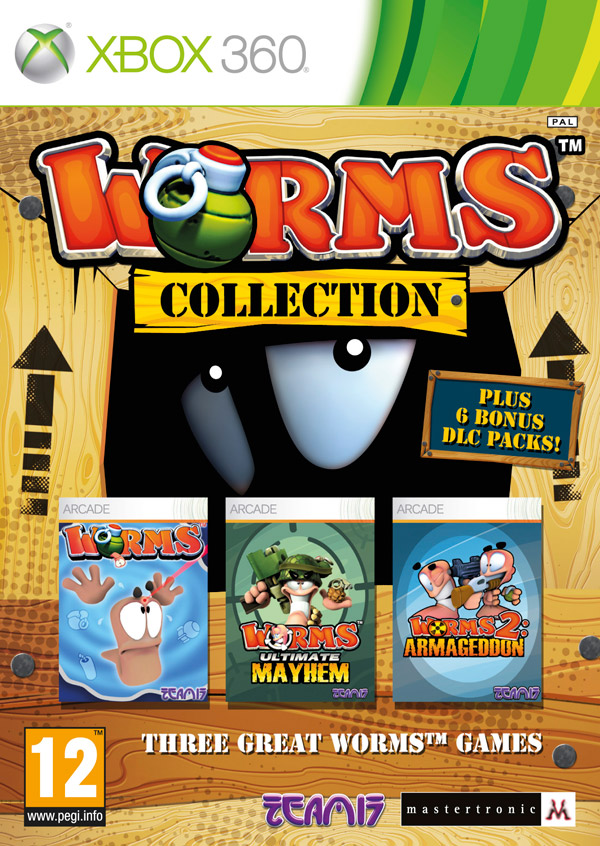 Box art - Worms Collection