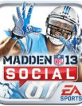 Box art - Madden NFL 13 Social