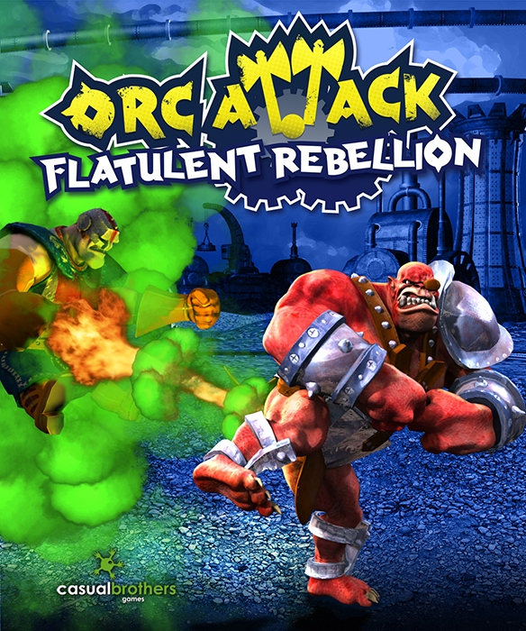 Box art - Orc Attack: Flatulent Rebellion