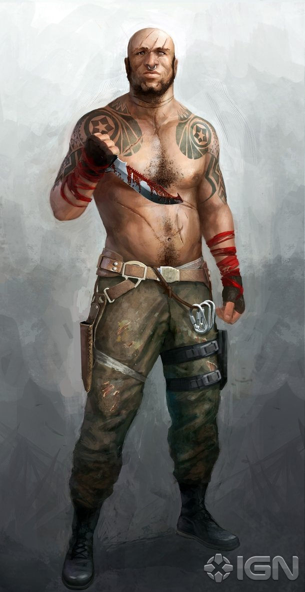 Check Out These Early Character Designs For Far Cry 3 S Vaas