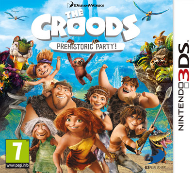 Box art - The Croods: Prehistoric Party!