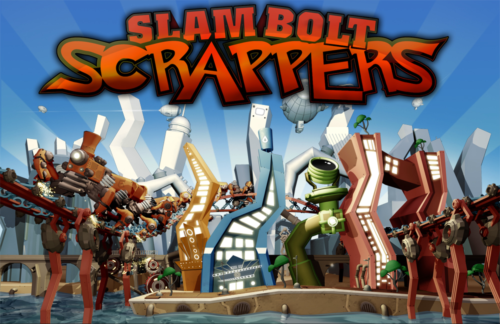 Box art - Slam Bolt Scrappers