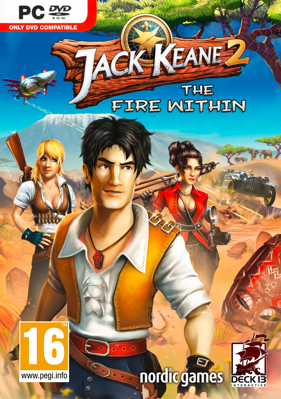 Box art - Jack Keane 2