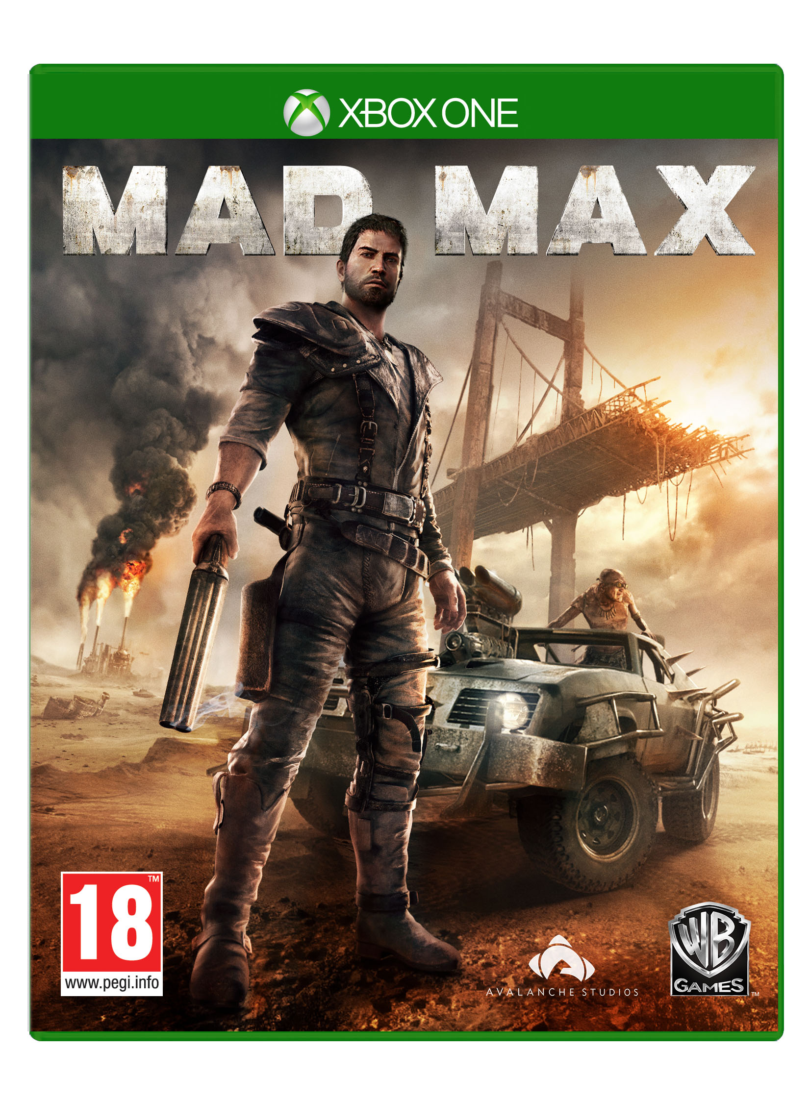 Box art - Mad Max