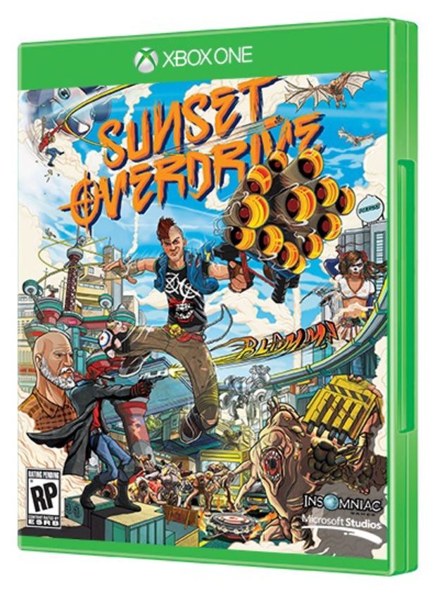 Box art - Sunset Overdrive