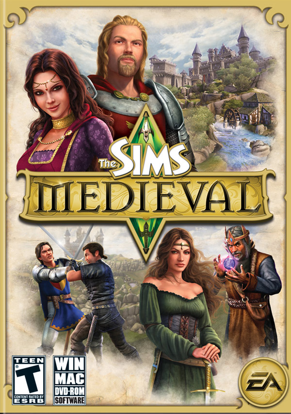 Box art - The Sims Medieval