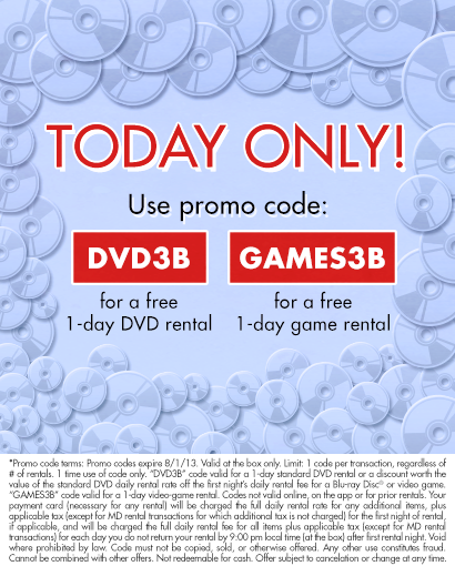 PSA: Free One-Day <b>Game</b> Rental From <b>Redbox</b> Today Only - GameRevolution