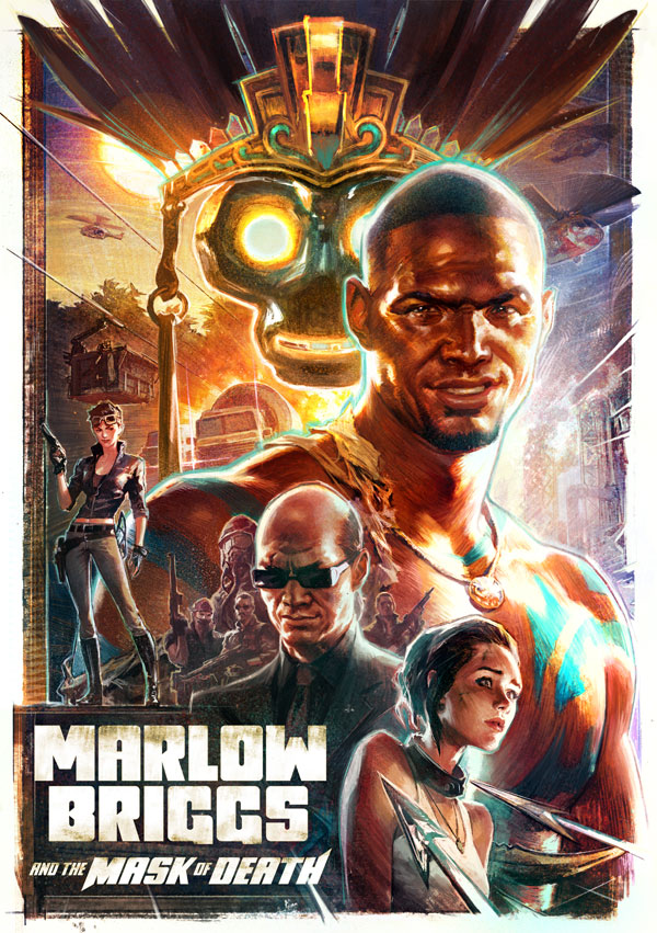 Box art - Marlow Briggs and the Mask of Death