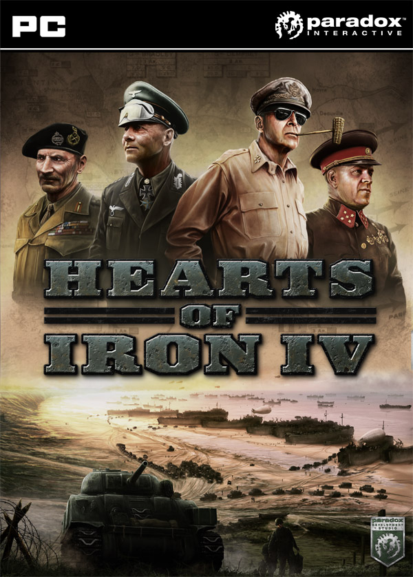 Box art - Hearts of Iron IV